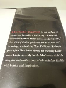 Author biography of TV character Richard Castle