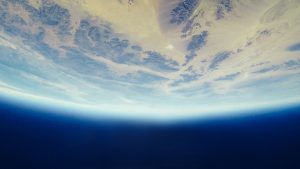 Earth viewed from space